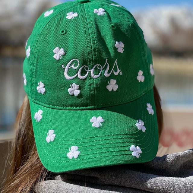 Irish you were beer. Come in and get your St. Paddy's Day merch!  #coorsbrewery #stpatricksday #colorado